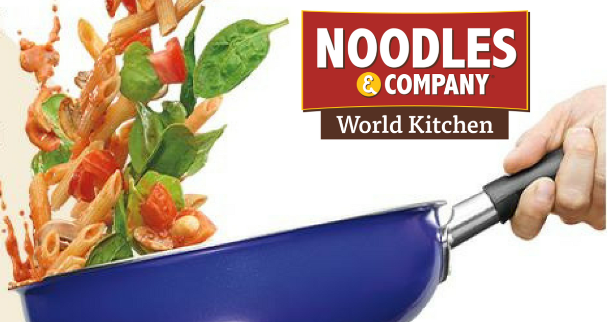Noodles & company coupon code