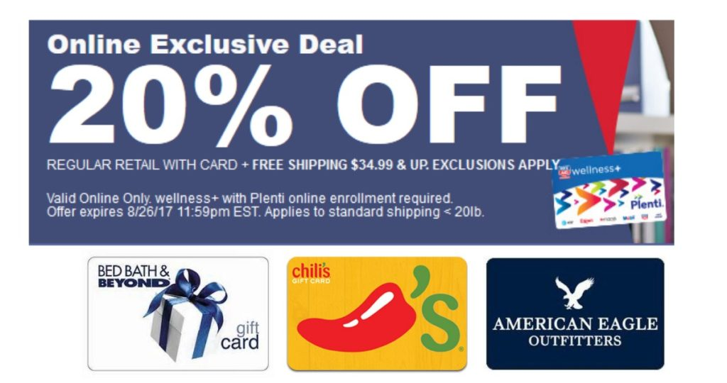 Plenti Points Gift Card Promotion Southern Savers