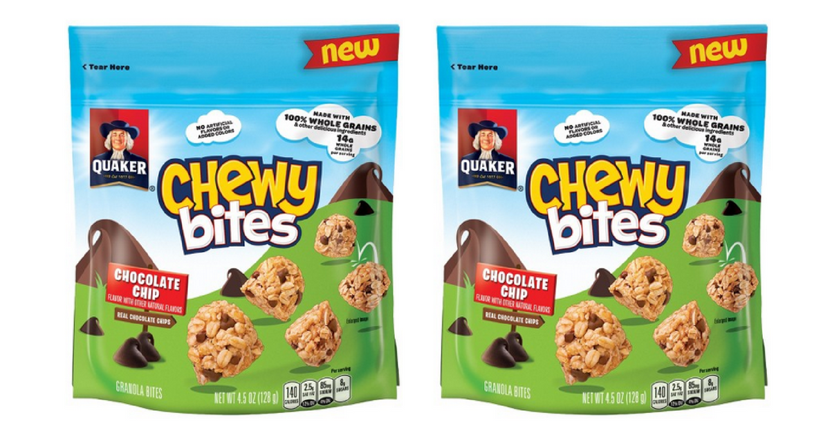 quaker chewy bites