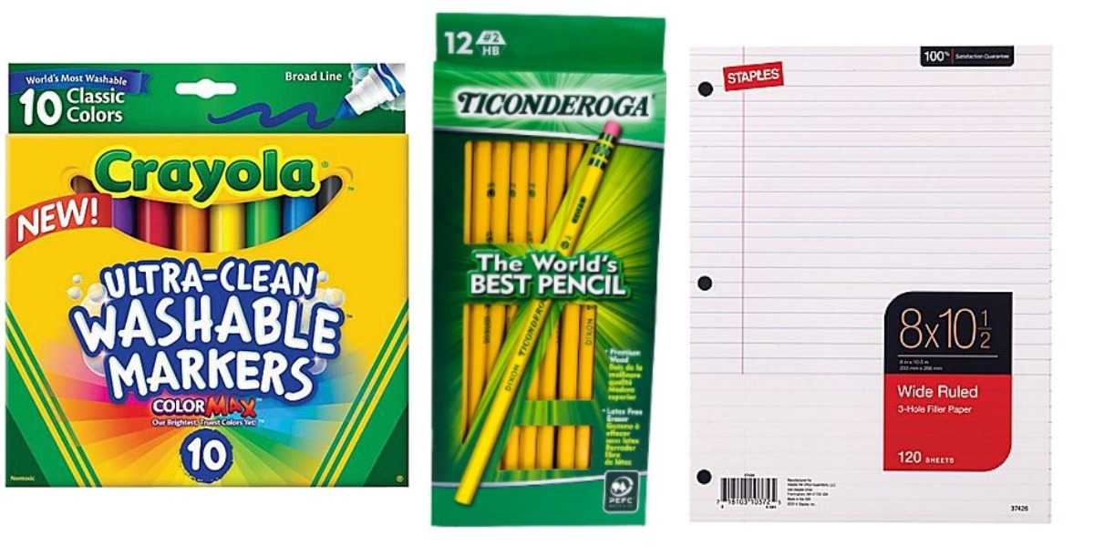 Staples & Office Depot: Save On School Supplies