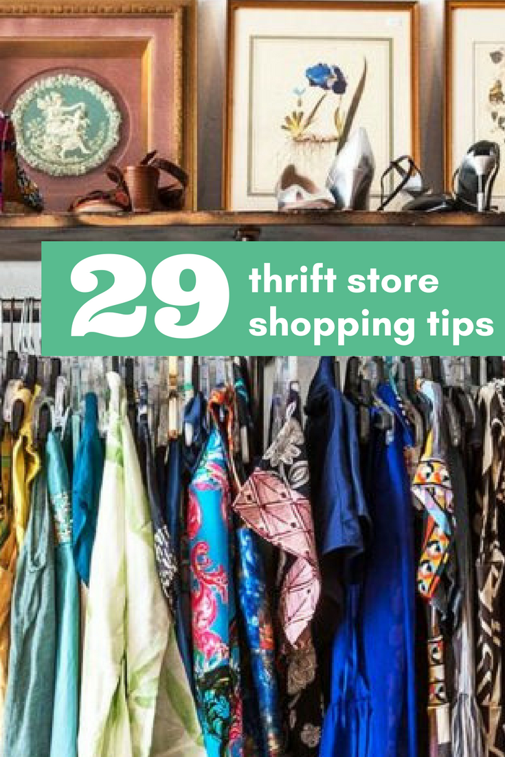 top thrift store shopping tips