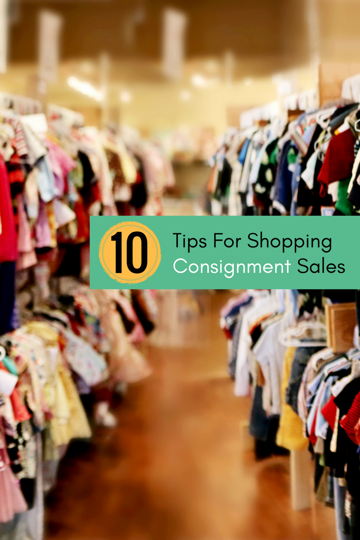 tips for consignment sales