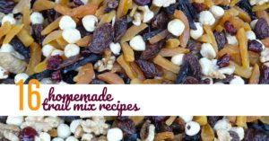 trail mix recipes