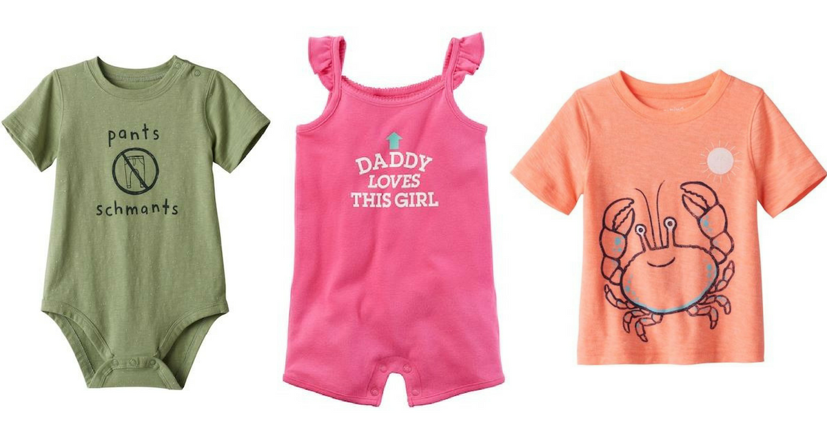 Kohls Baby Clothes Magnificent Kohl's Coupon Codes Makes Baby Clothes 6060 Shipped Southern