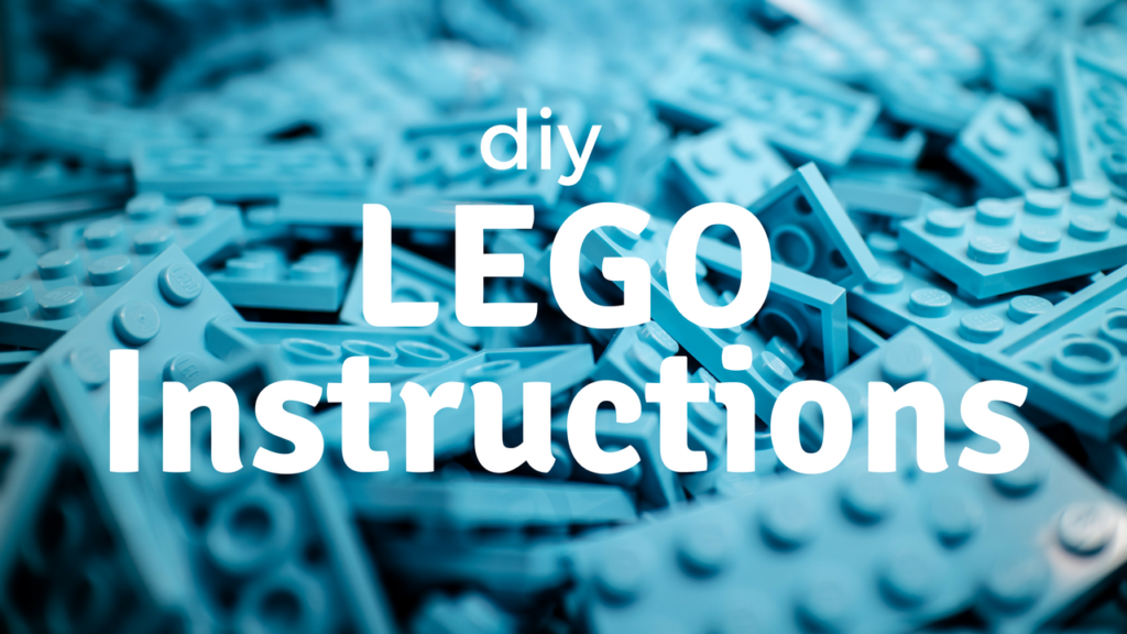 Diy Lego Instructions Southern Savers