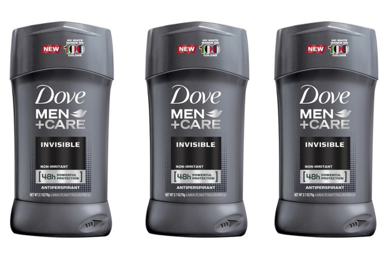 Dove Deodorant Coupons = $1.31 Men's Deodorant at Target & CVS