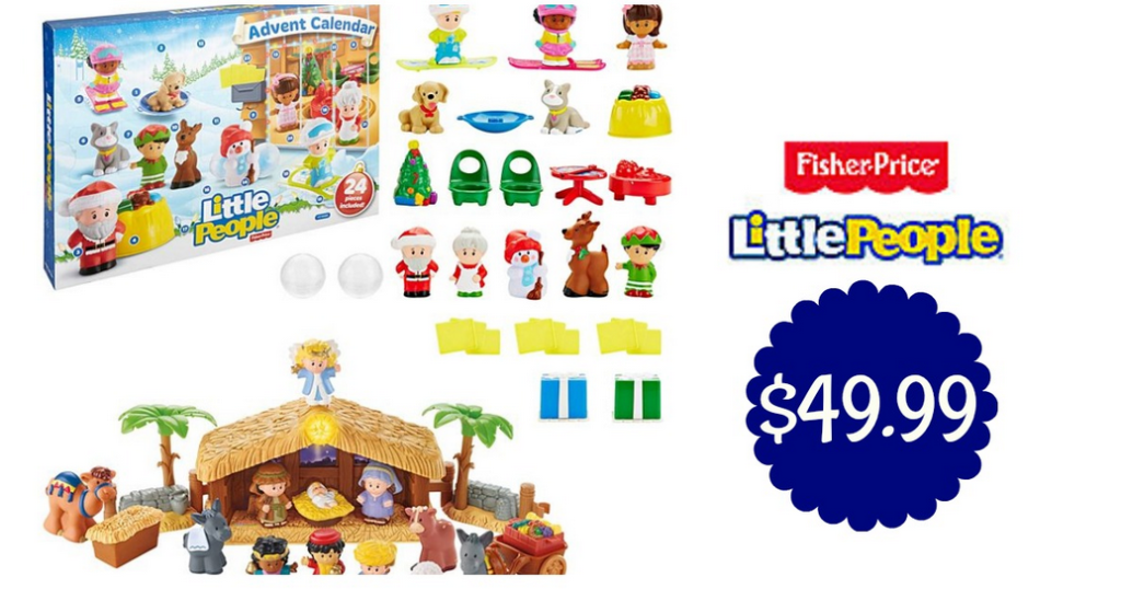 Little People Christmas Story Set Advent Calendar 49 99
