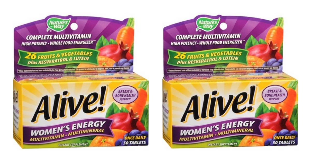 alive vitamins