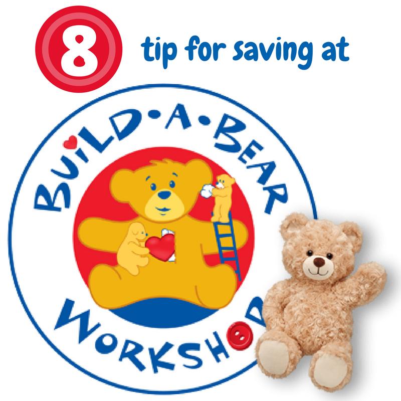 saving at build a bear