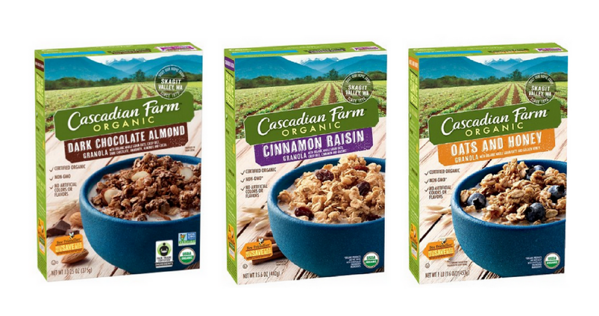 cascadian farm cereal