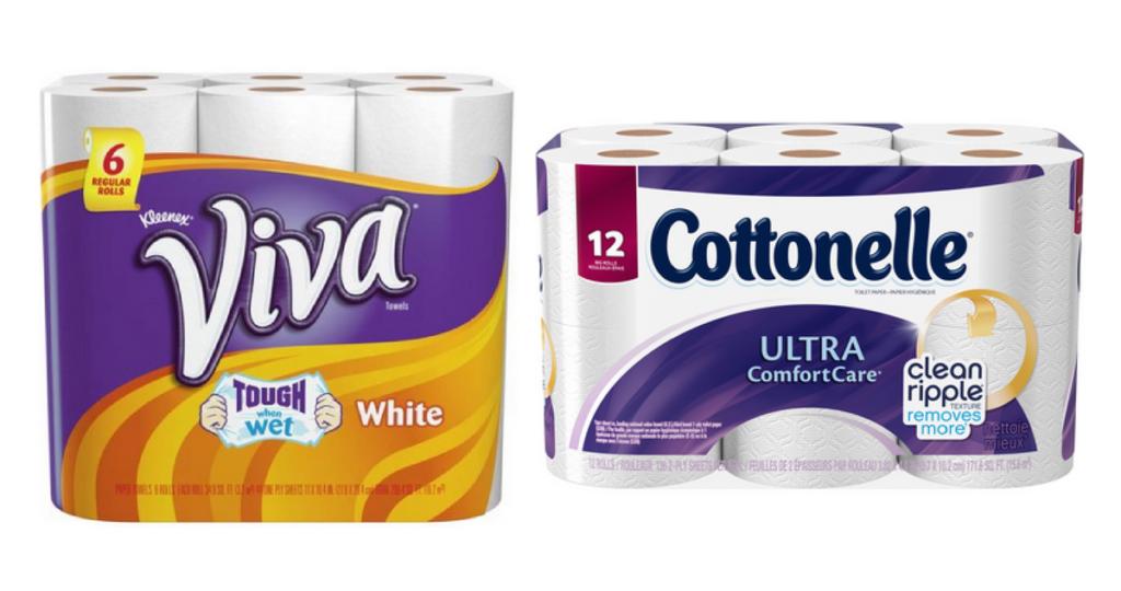 cottonelle and viva