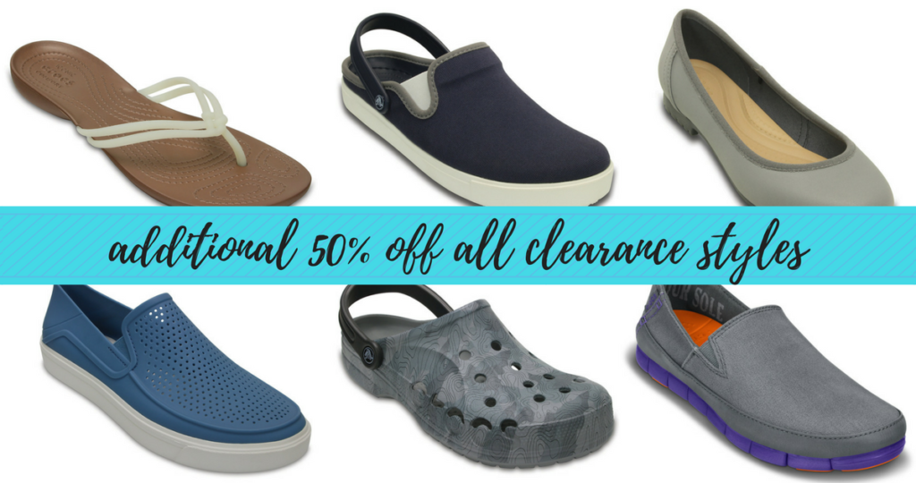 66a15d216 Crocs Sale - 50% Off All Clearance Styles    Southern Savers