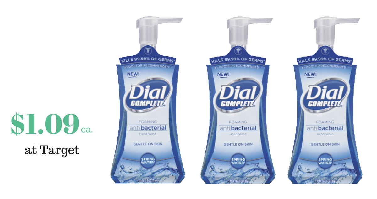 photo about Dial Printable Coupon named Dial Hand Cleaning soap, $1.09 For each Bottle :: Southern Savers