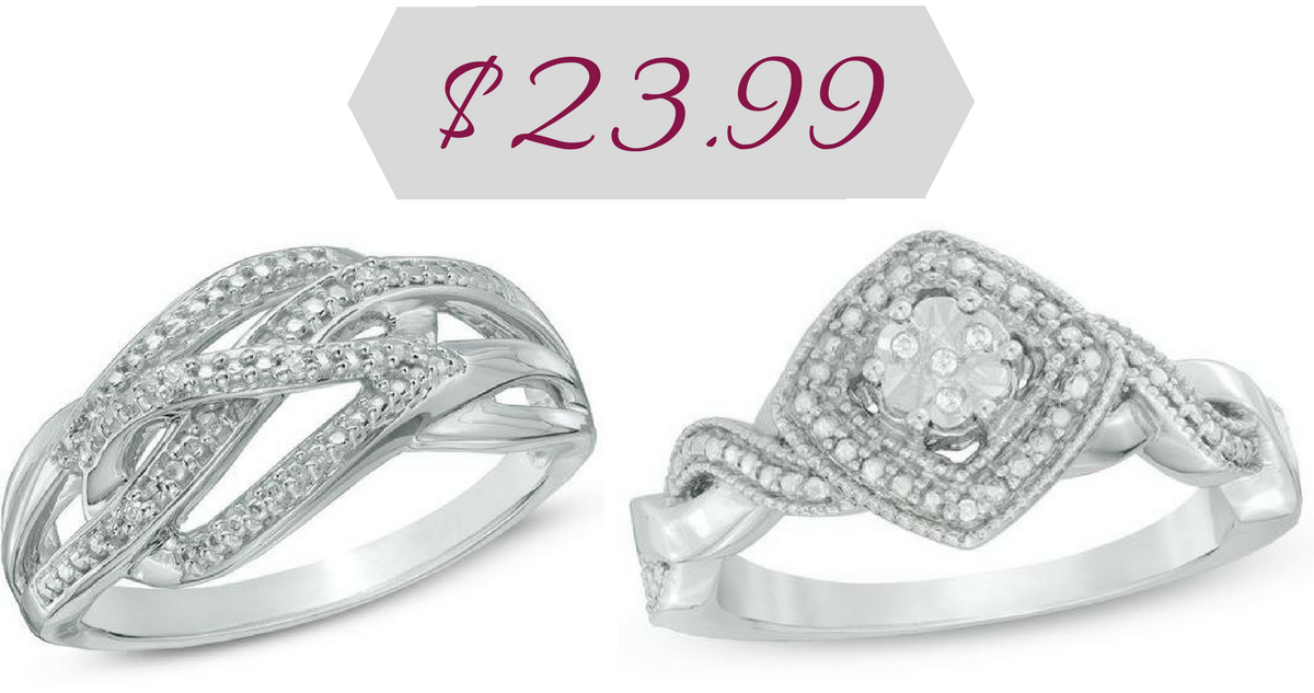 Zales Deal Diamond Accent Ring For 23 99 Southern Savers