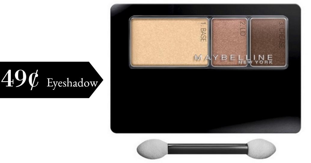 Maybelline Coupon | 49¢ Expertwear Eyeshadow