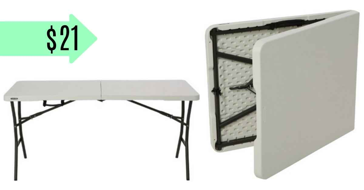 Charmant Right Now You Can Get A 5 Foot Folding Table For $21 From Jet.com! Use Code  WAREHOUSE30 At Checkout To Drop The Price Down.