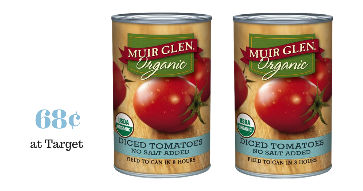 Muir Glen Tomatoes Only 68 At Target Southern Savers
