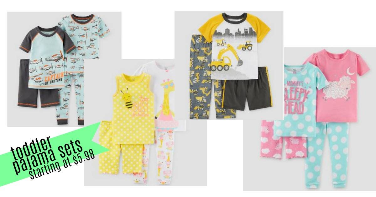 2cc3dfd00 Get some new PJs for your kids with these Target deals! They're offering up  to 50% off select Just One You (a Carter's brand) baby and toddler pajama  sets.
