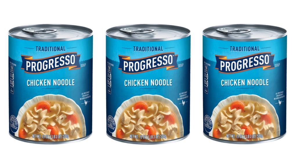 photograph regarding Printable Progresso Soup Coupons named Progresso Soup, 64¢ ea. at Publix :: Southern Savers