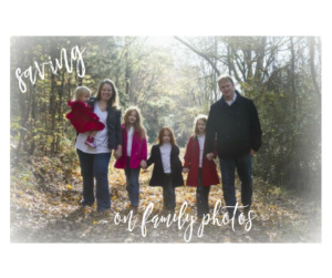 saving on family photos