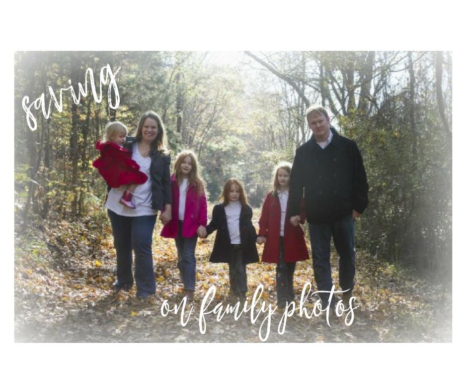 saving on family photos