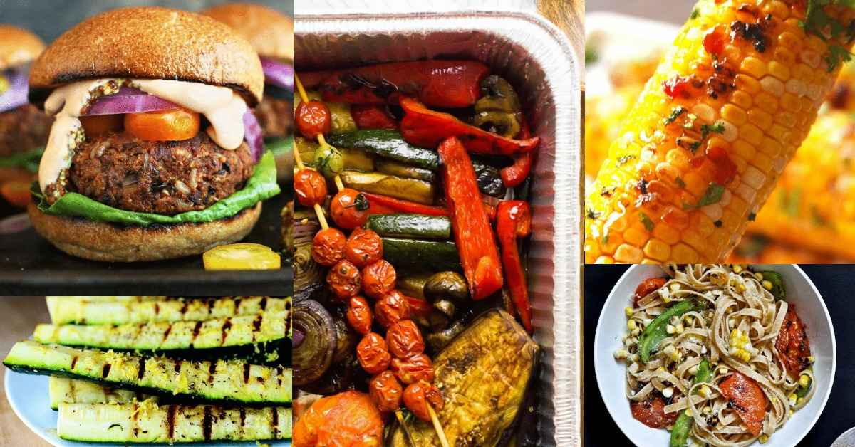 vegetarian grilling recipes