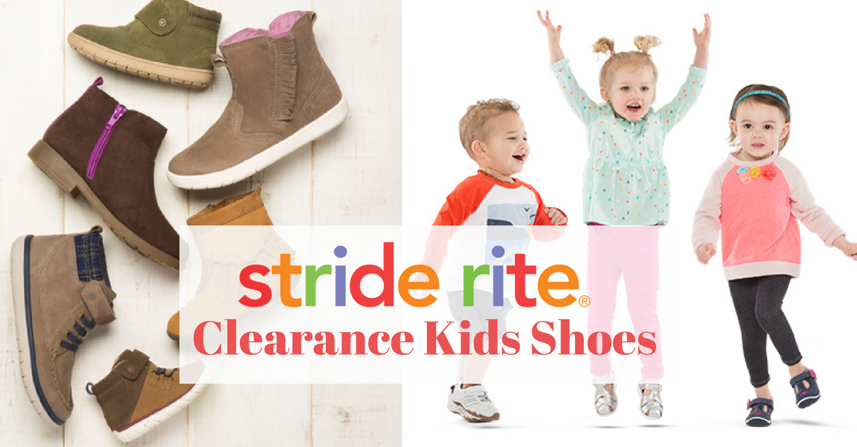 Stride Rite Clearance: 50% Off Kids' Shoes :: Southern Savers