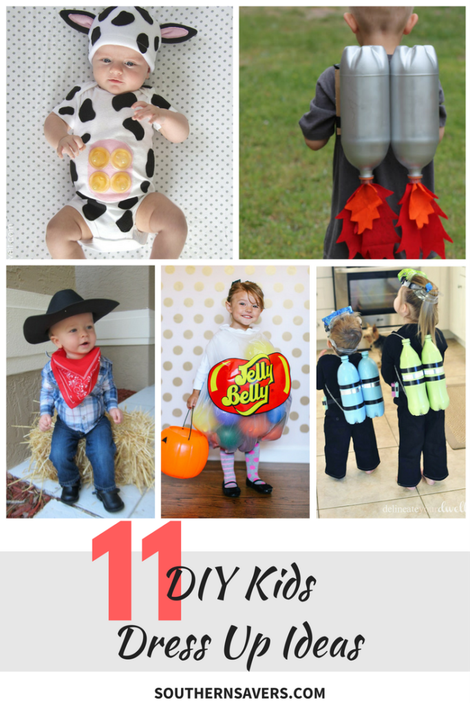 a0704b65f7f 11 DIY Kids Dress Up Ideas :: Southern Savers