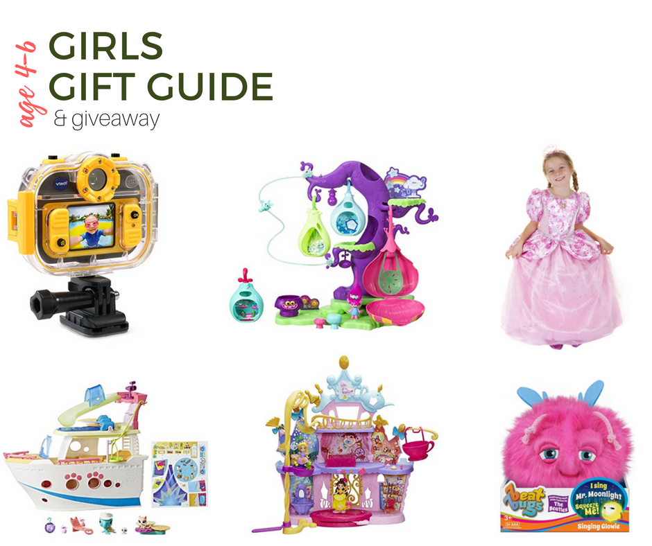 2017 Top Gifts For Girls Age 4-6