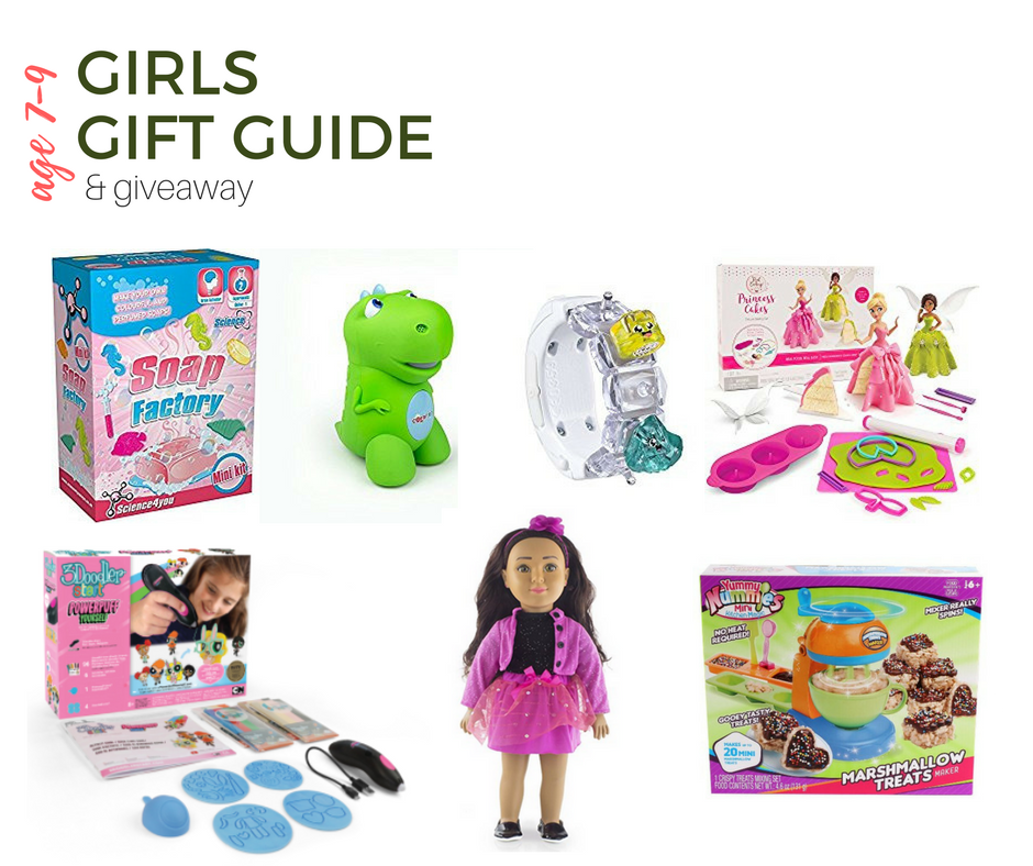 2017 Top Gifts for Girls Age 7-9 | Gift Guide + Giveaway ...