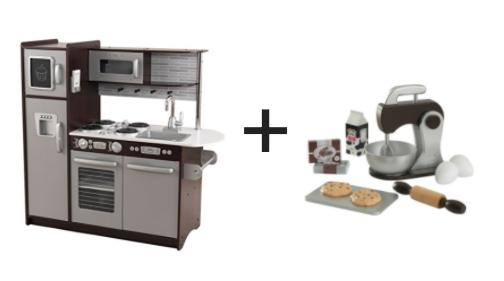 Kidkraft kitchen kidkraft home cooking wooden play - Cuisine kidkraft espresso ...