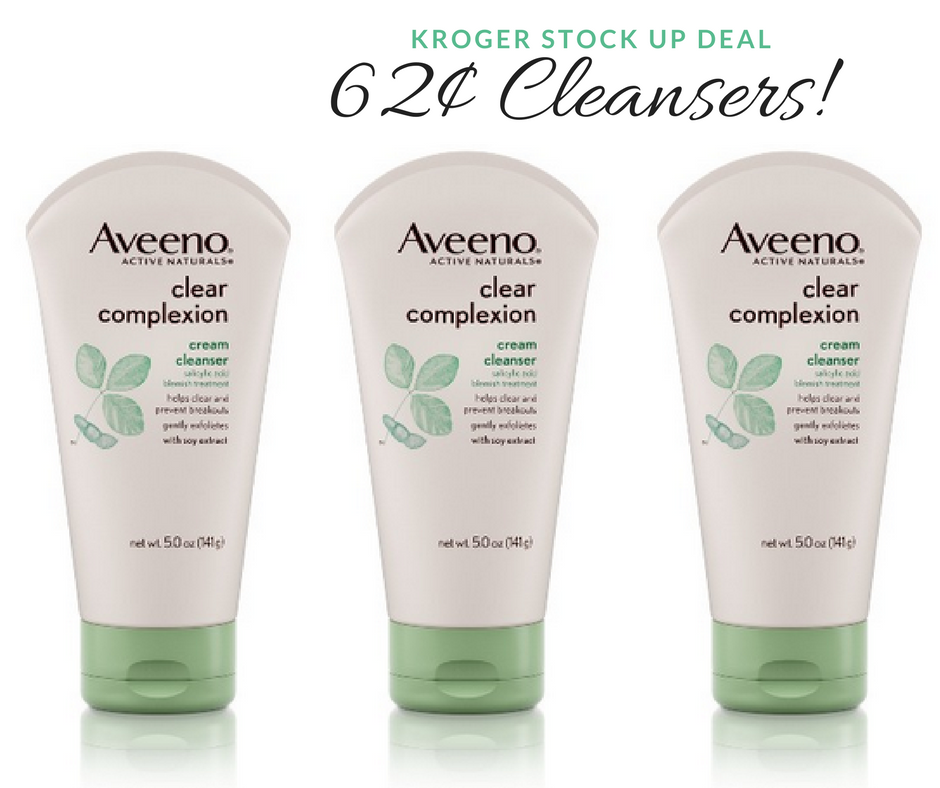 aveeno cleansers
