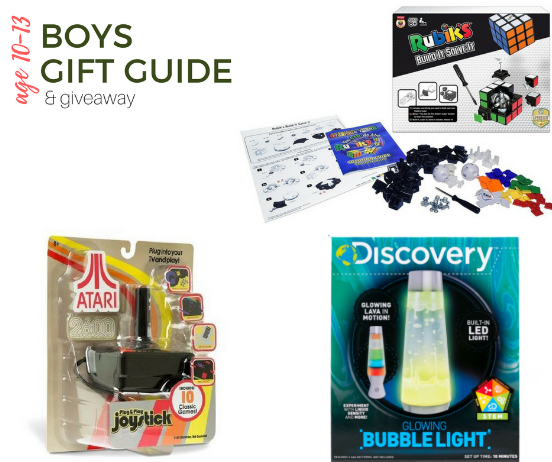 2017 Top Gifts For Boys Age 10 13 Gift Guide Giveaway