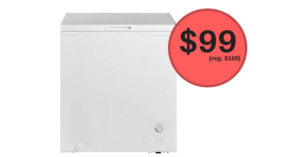 White Arctic King Chest Freezer 99 Reg 169