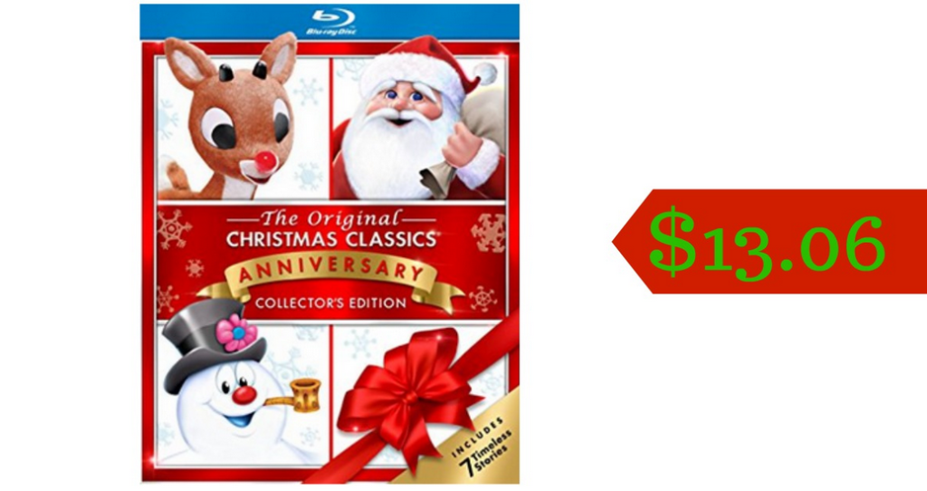 its never too early to get ready for christmas amazon has the the original christmas classics gift set anniversary collection on blu ray for just 1306