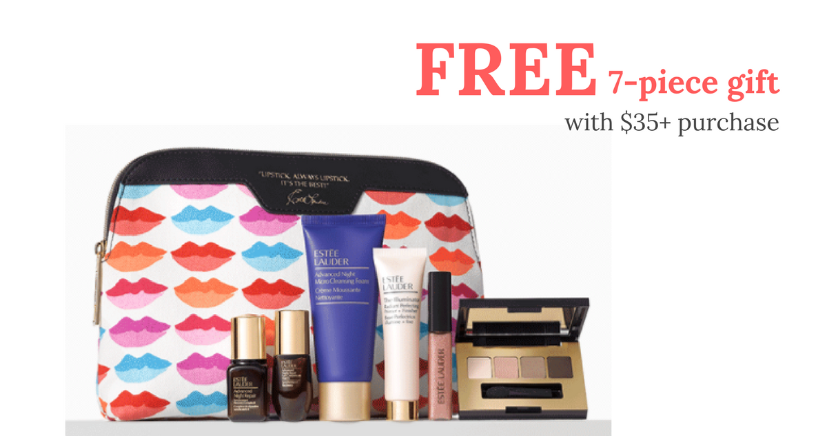 Free Gift Set With $35+ Estee Lauder Purchase  Southern Savers