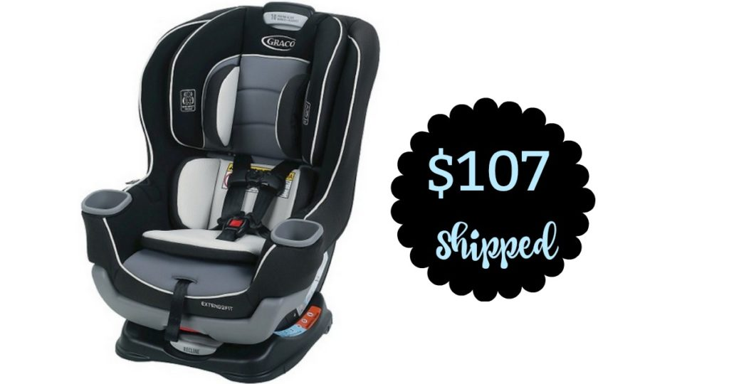 Graco Extend2Fit Convertible Car Seat, $107.19 Shipped :: Southern ...