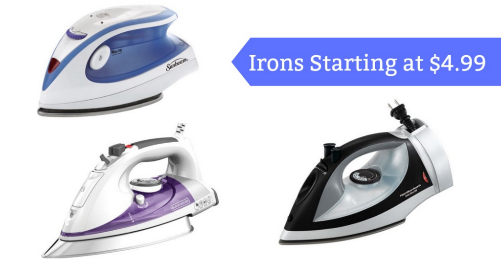Black Decker Smarttemp Easy Steam Iron For 6 99 Southern Savers