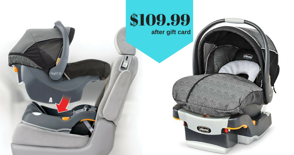 Chicco Keyfit30 Infant Car Seat Only 109 99 After Gift Card