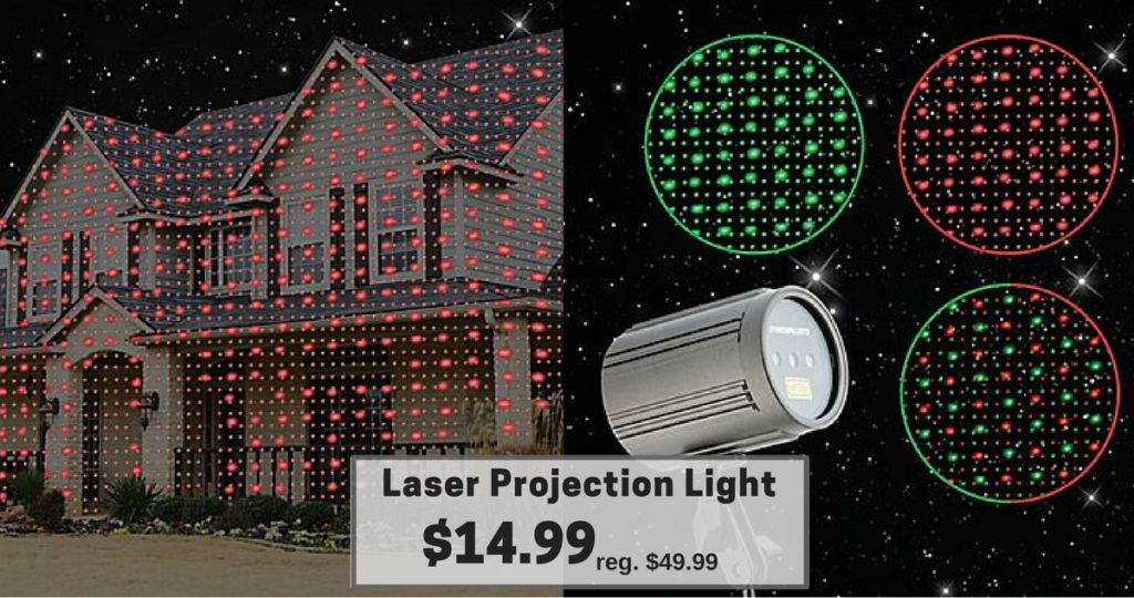 laser projection light