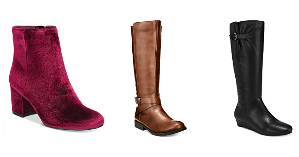 cdd51aae5e Score some new boots for the Fall and Winter seasons with a great sale at  Macy's. They have tons of women's boots on sale, and I saw boots as low as  ...