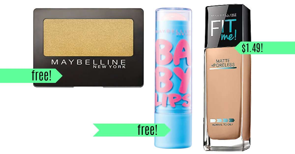 Maybelline Coupons Free Makeup At Cvs Southern Savers
