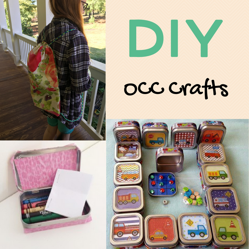diy operation christmas child crafts