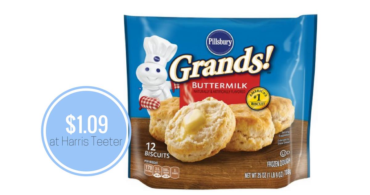 Bi Lo Stores >> Pillsbury Frozen Biscuits, $1.09 at Harris Teeter ...