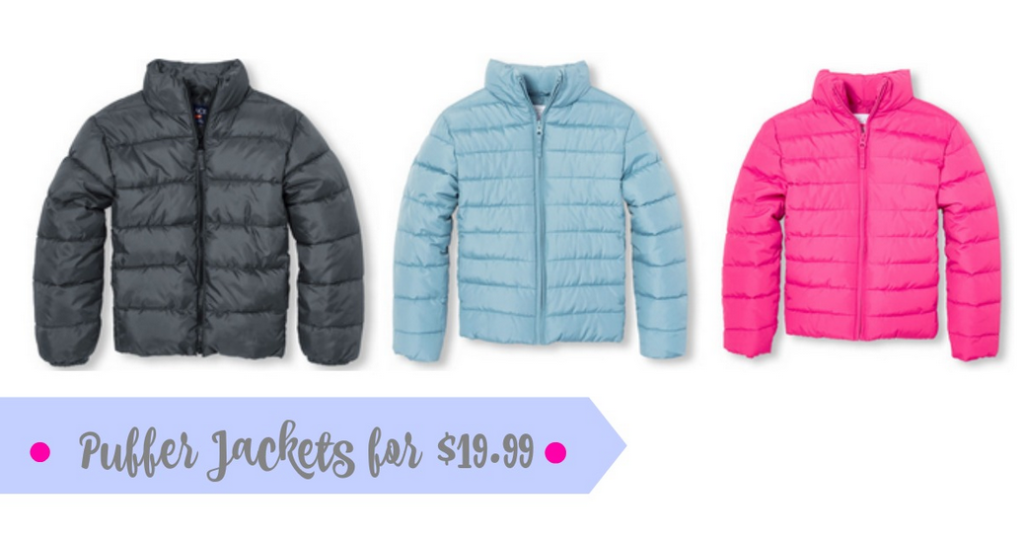 f8291a792 Toddler & Kids Puffer Jackets for $19.99 :: Southern Savers