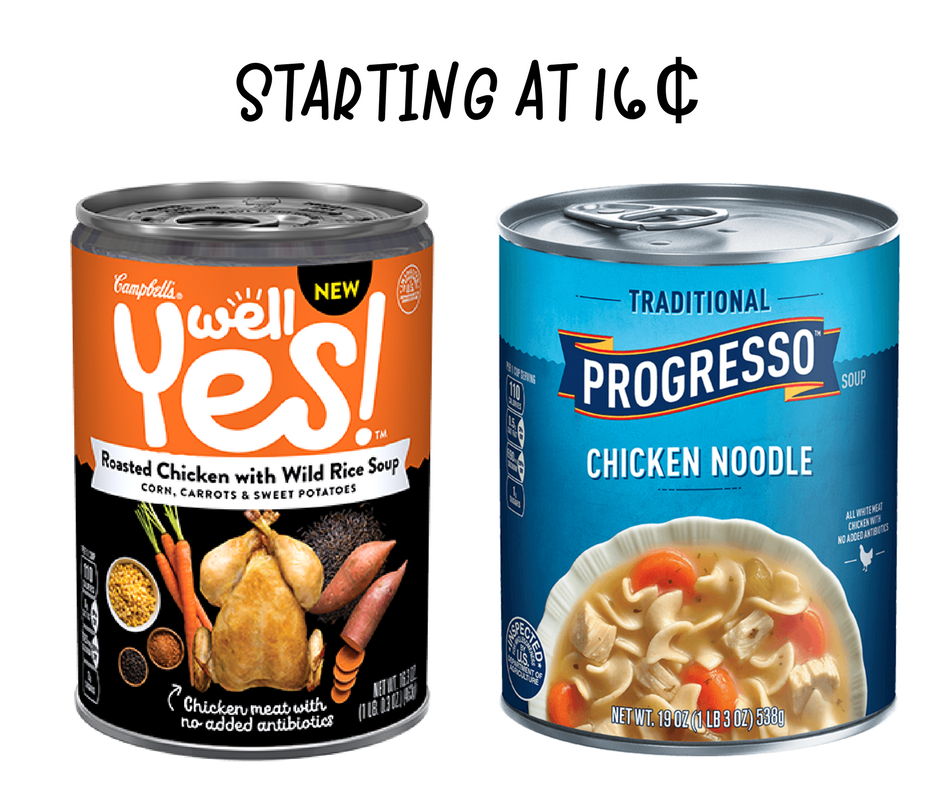 photo relating to Printable Progresso Soup Coupons identify Soup Coupon codes Cans Setting up at 16¢ :: Southern Savers
