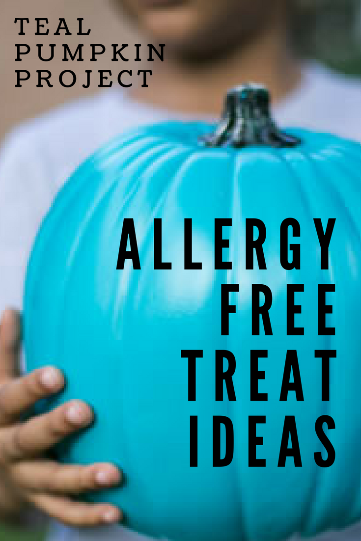 teal pumpkin project allergy free treat ideas