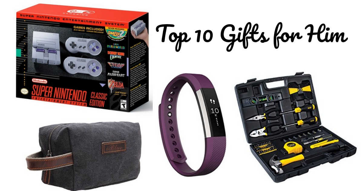 Top 10 Gifts For Him Southern Savers