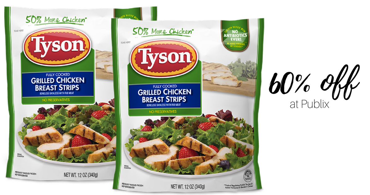 New Tyson Coupon | 60% Off Meat at Publix :: Southern Savers