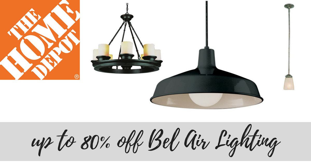 Home Depot Up To 80 Off Bel Air Lighting Southern Savers